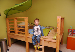 Ben's Treehouse Bed