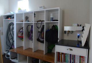 Our House Right Now: Mudroom + Powder Room