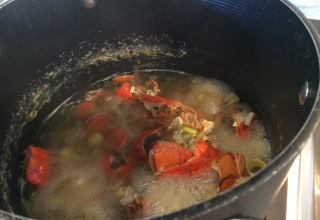 Coconut Curry Lobster Bisque